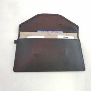 Экранизированный кожаный чехол для смартфона