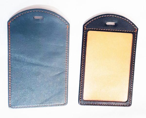Экранирующий чехол для пропуска с пластиковым окном