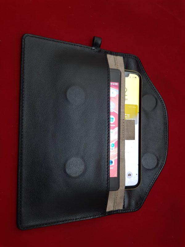 Кожаный чехол Antimessenger-leather