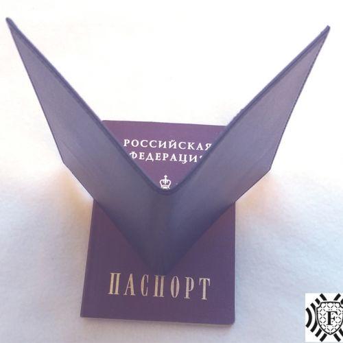 экранирующая обложка на паспорт