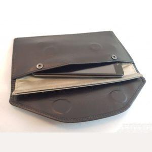 Экранирующий усиленный кожаный чехол для телефона