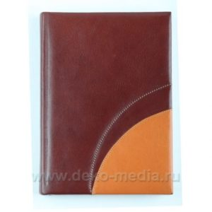 кожаная обложка на ежедневник
