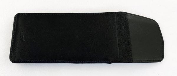 Экранированный формованный чехол на Iphone12 Pro Max Блокировка мессенджеров. Узкий клапан. кожа.